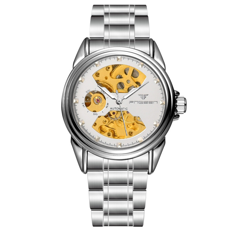 Fully automatic mechanical watches business men's classic watches brand-name mechanical watches