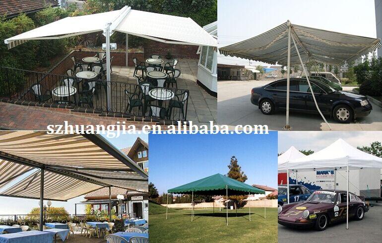 Motorized Outdoor Retractable Freestanding Carport Tent