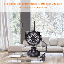 Newest GSM alarm system Medical/panic alarm / burglar infrared night vision function alarm system best home security alrm system