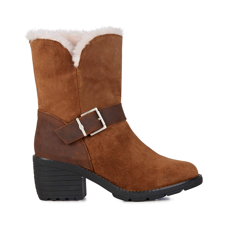 ee7cc52040 Get Quotations · EMU Australia Colebrook Womens Waterproof Sheepskin Boots
