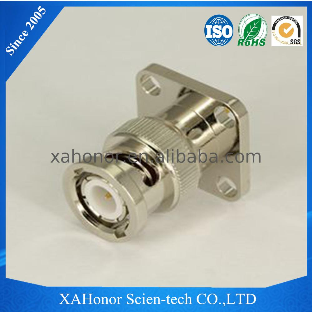 custom size how to connect bnc connector cctv camera with supplier