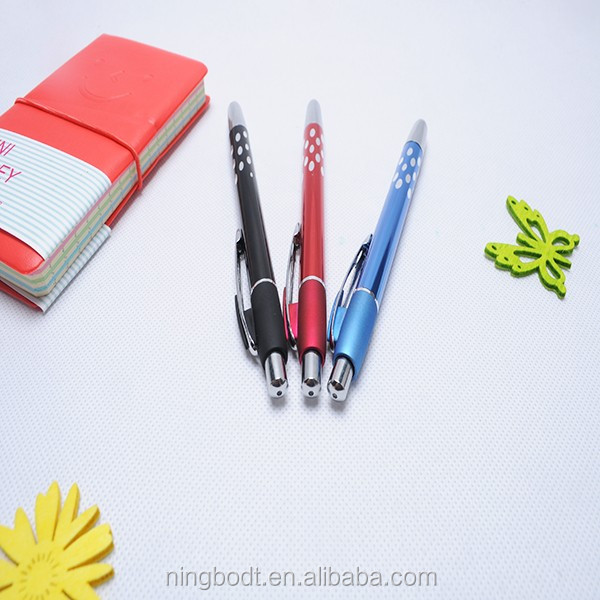 Manufacture supply erasable gel ink pen for eco writing