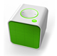 Mini square cube Portable speakers Stereo Bluetooth Speaker With Easily Carried Lany A03
