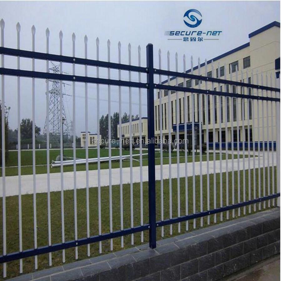 Verzinkte Stahlrohr Zaun Günstige Wrough Eisen Zaun Buy Product