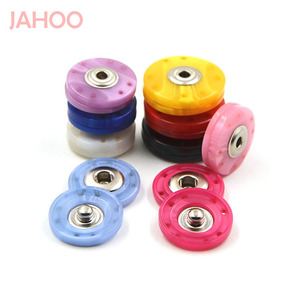 Fashion Colorful Eco-friendly Resin Double Snap Fastener Buttons For Clothes