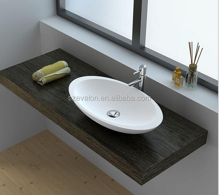 Acrylic solid surface bowle /enameled kitchen sink/corner bathroom furniture,wall hung wash basins, solid surface bathroom basin