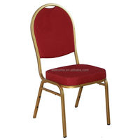 top quality fireproof steel banquet chair supplier
