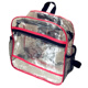 Clear Transparent Unique Teen Girls PVC Lightweight Waterproof Backpack