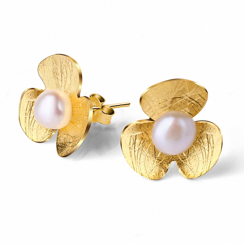 Factory simple designer cute <strong>pearl</strong> <strong>stud</strong> <strong>earrings</strong> for cute girls