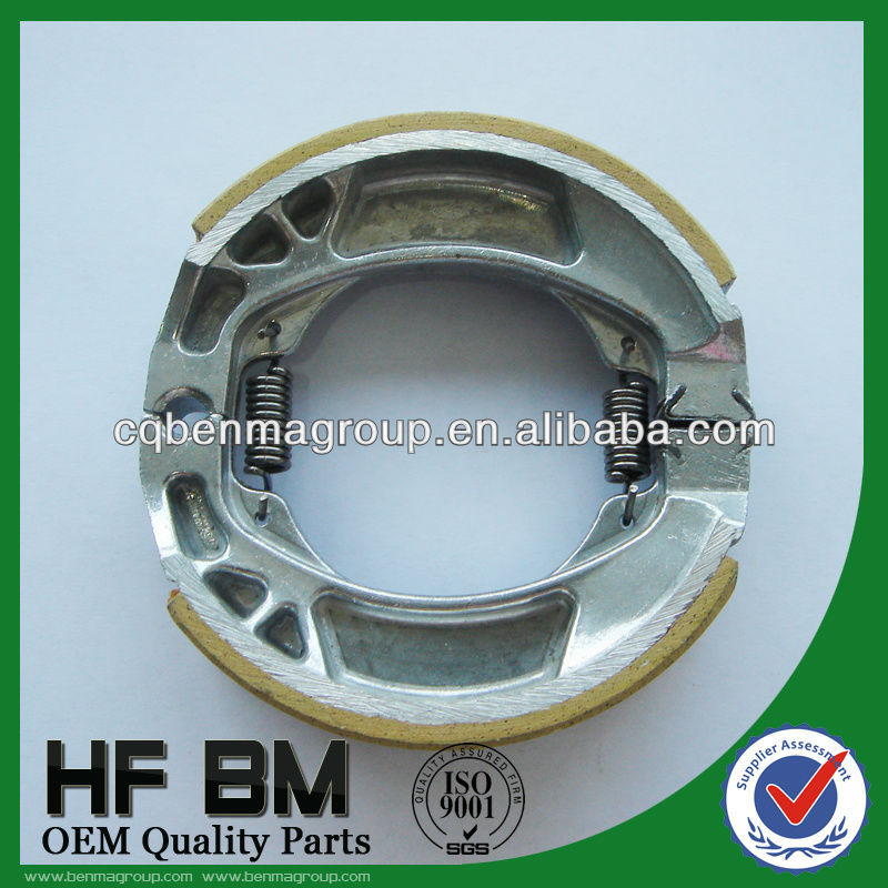 silver frame brake shoes, after market replacement brake shoe