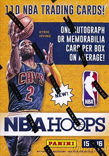 2015/2016 Panini Hoops Basketball Factory Sealed 20 Box Blaster CASE with TWENTY(20) AUTOGRAPH or MEMORABILIA Cards ! Every Box includes 110 Cards and Autograph or Memorabilia Card! Loaded!