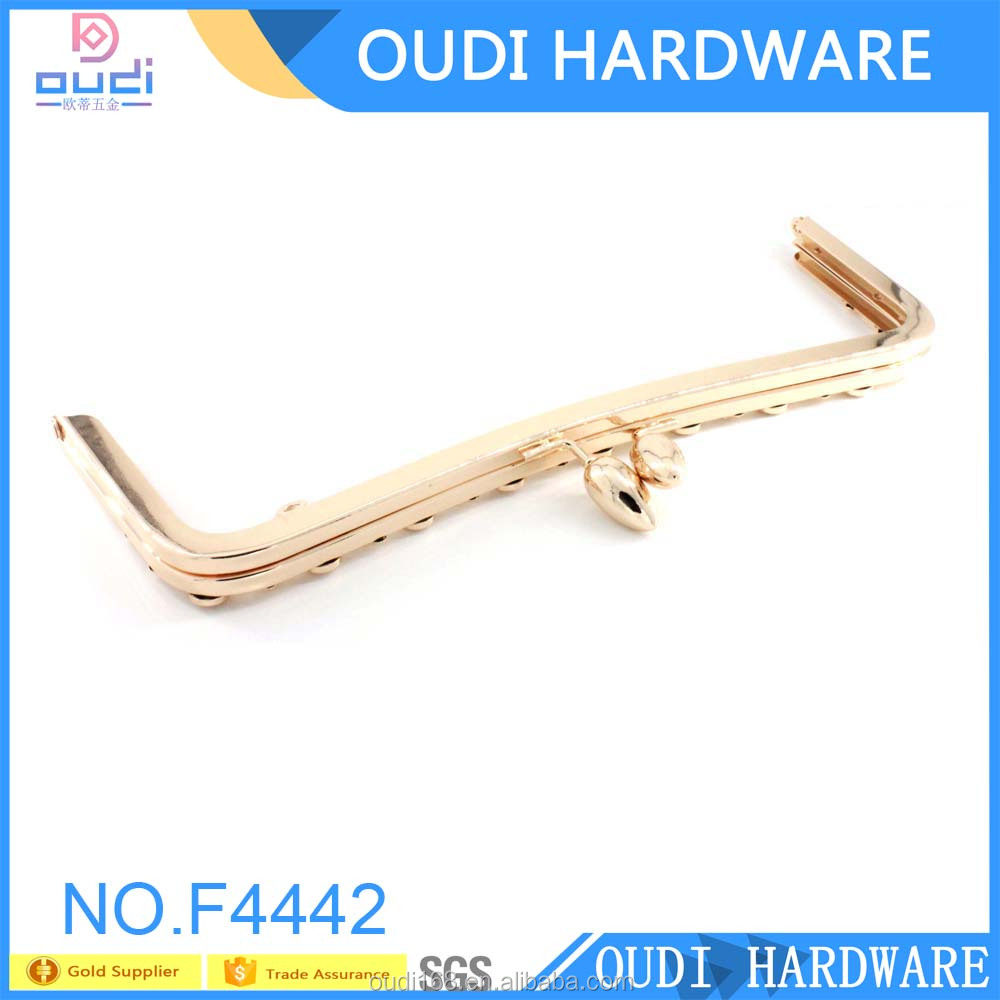 China Supplier Metal Bag Frame Closure Hardware