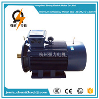 400V AC IP55 three phase 240hp 180kw induction electric motor