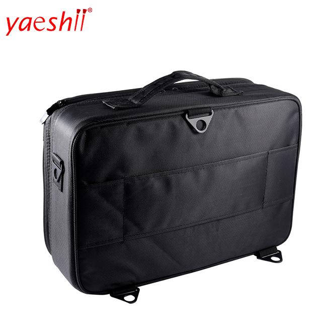 Yaeshii Nylon Waterproof Professional Portable Personalized Pink Makeup Train Case