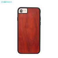 Premium Design Phone Cover Real Blank Wood Case For iPhone 8