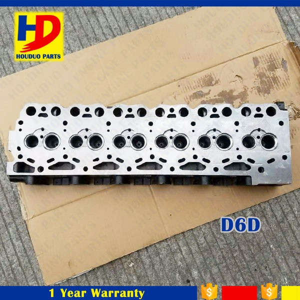 Excavator D6D Engine Cylinder Head Assy For Volvo Duetz Engine