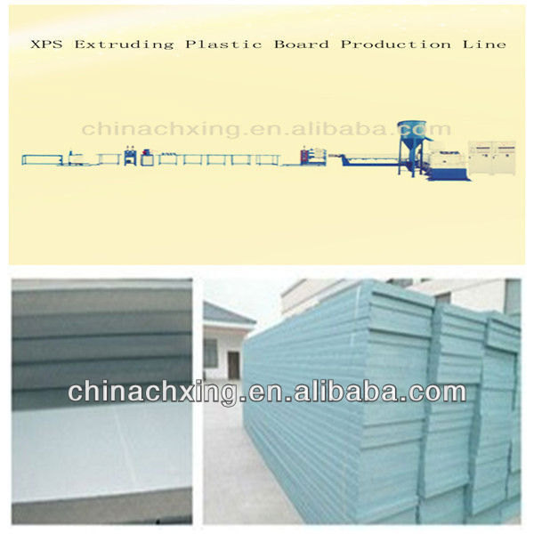 XPS Extruder Plastic Board Machine with factory price
