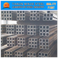 erw asian black square tube steel metal