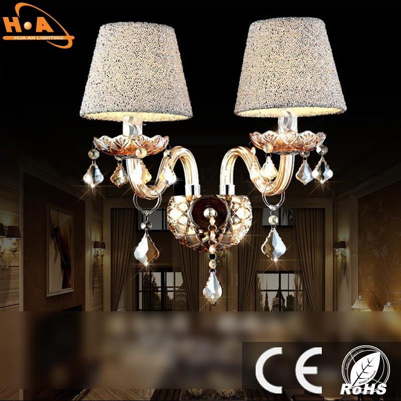 Modern popular glass hanging lamp vintage wall lamp