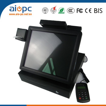 Cheap Cash Registers With Msr,Barcode Scanner,Thermal Printer - Buy Cheap  Cash Registers,Cash Register,Pos System Product on Alibaba com