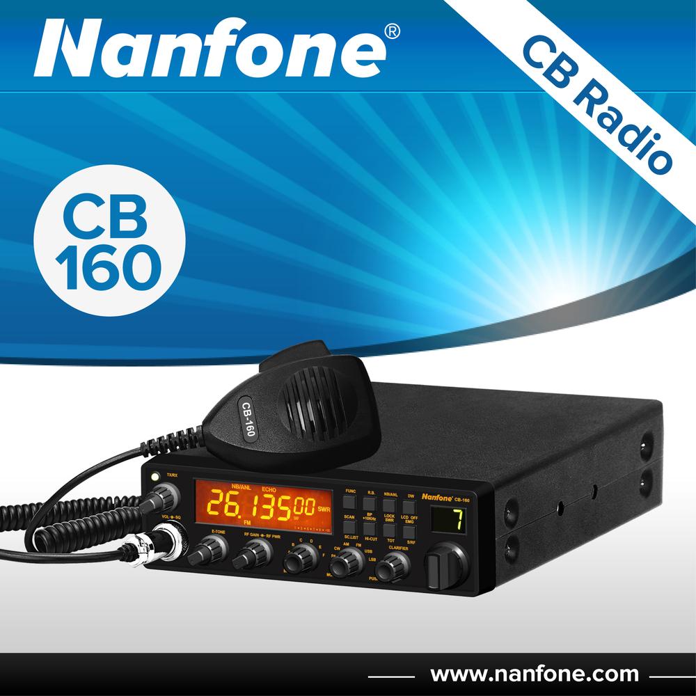 Nanfone Cb-318 Hf Radio Transceiver Antenna Amplifier For Car ...
