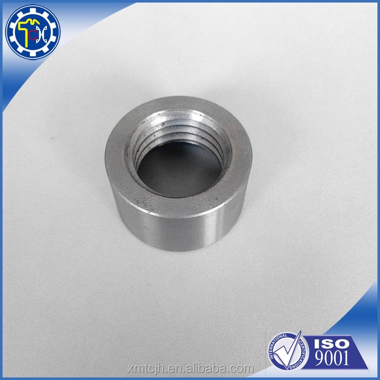 Custom CNC Machining Threaded Tube CNC Turning Stainless Steel Sleeve