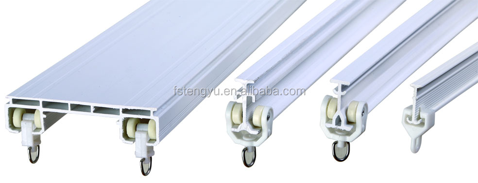 Pvc Sliding Corner Or Outdoor Curtain Track - Buy Curtain Track ...