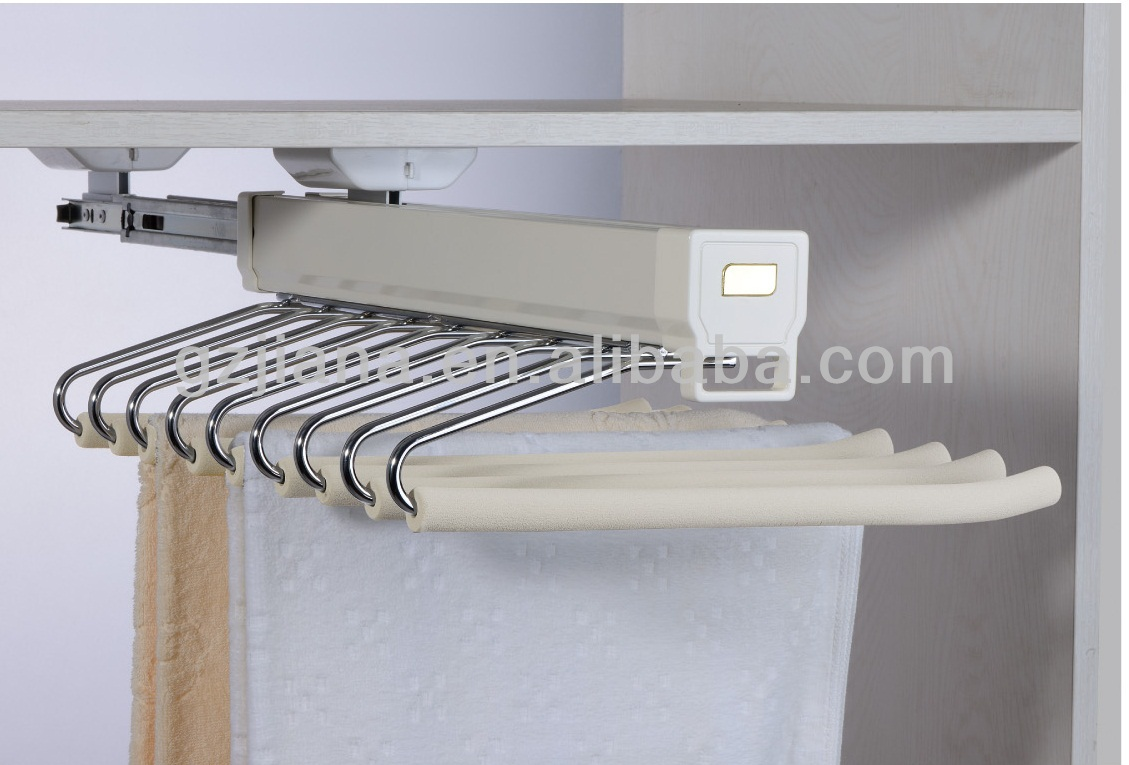 Furniture Accessories Pants Rack Pull Out Hanger - Buy Pants Rack ...