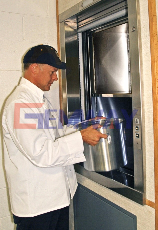 Electric Residential Groceries Outdoor Dumbwaiter Price