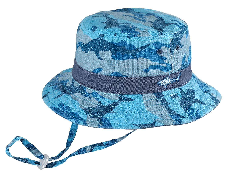BOYS BUCKET-REEF BLUE 7fcecf98521c