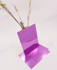 purple color mirror sheet /golden mirror acrylic sheet