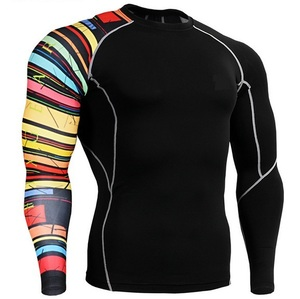Sublimation Print Moisture Wicking Wholesale Running Compression Wear