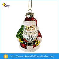 Cheap Clear Glass Ideas Decorating Glass Santa Ornaments