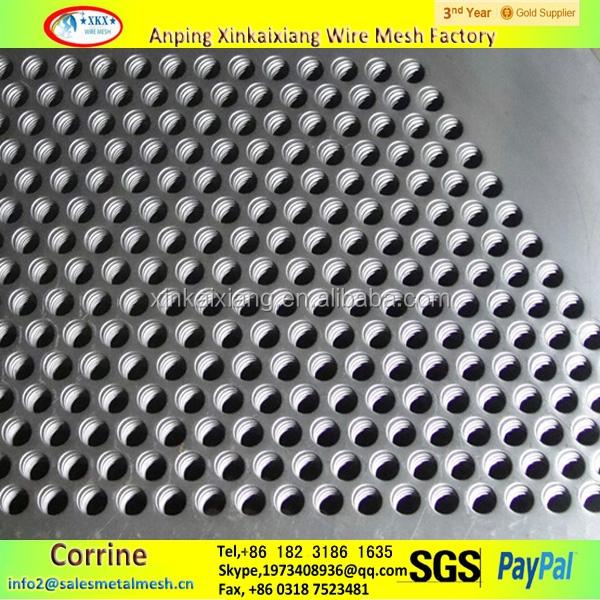 5mm d 39 paisseur en acier inoxydable t le perfor e micro - Tole acier 5mm ...