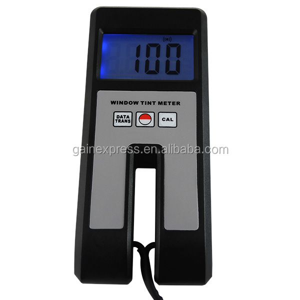 Digital Window Tint Meter Visual Light Transmission 30mm Thickness Continuous Measuring