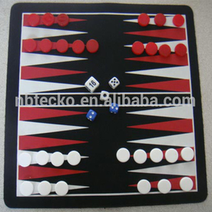 3 in 1 Checkers, Backgammon and Chess Game set