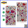 2014 Hot Selling For Gionee ELIFE E7 Bling Wallet Leather Flip Case Cover With Pattern Laudtec