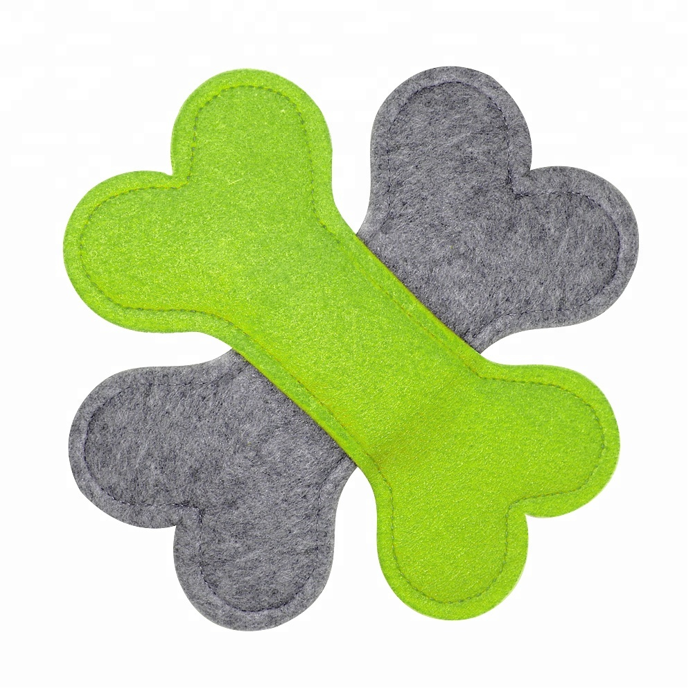 Wholesales nature felt frisbee dog toys soft <strong>pet</strong> flying toys