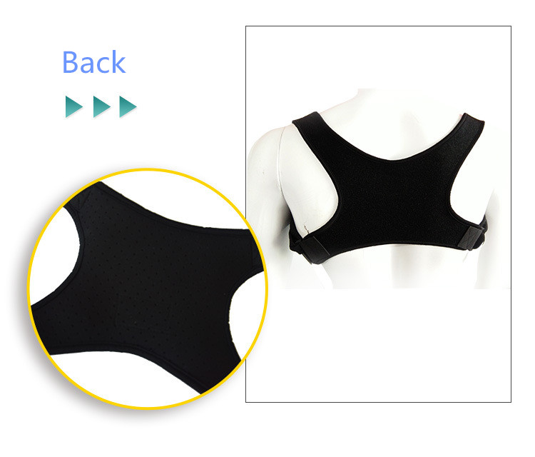 New hot selling products adjustable back posture corrector brace