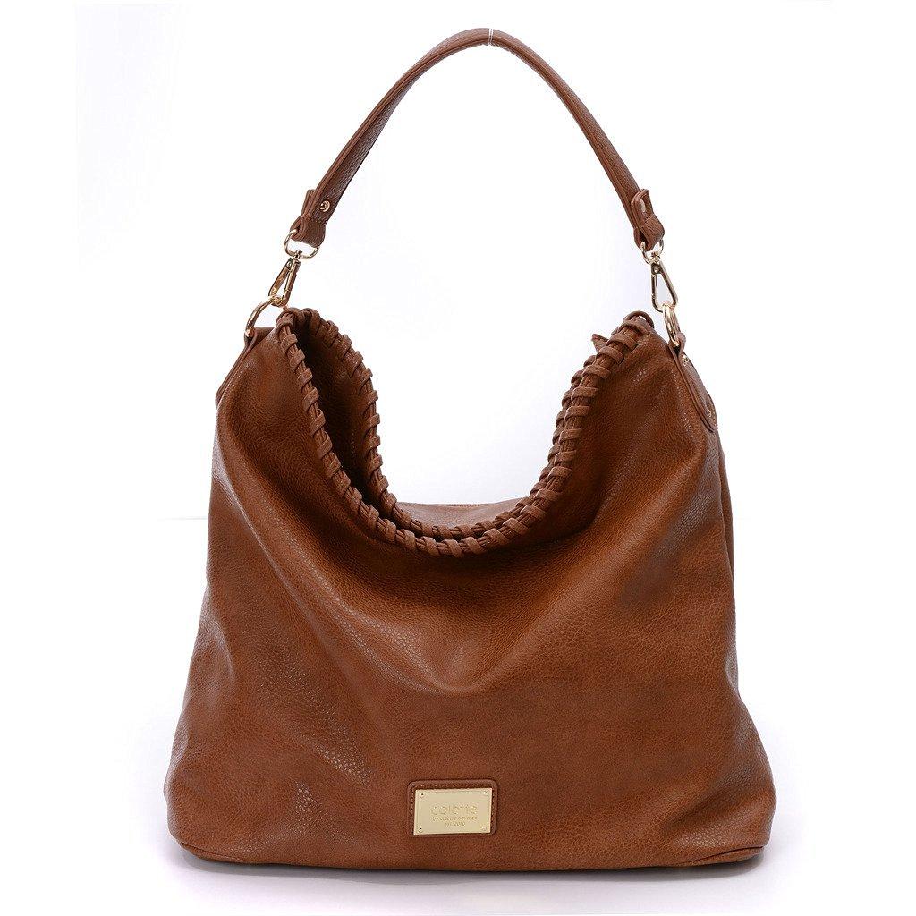 c7d3c9900f7d Get Quotations · DDDH Hobo Handbags Durable PU Leather Purses Cross-body  Shoulder Bag Bucket Bag For Women