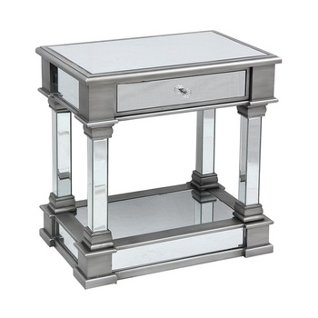 Wondrous Modern Fancy Mirrored Coffee Side End Table Buy Modern Design Glass Center Table Cheap Side Tables Modern Coffee Table Lighted End Tables Product On Short Links Chair Design For Home Short Linksinfo