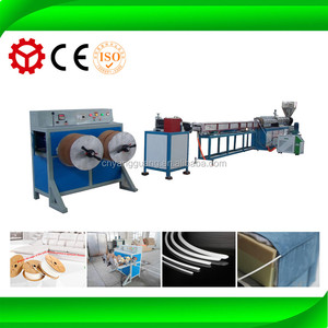 OKE Technology eva foam sofa and bed seam binding 9 shapes and comma extruder line