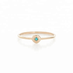 925 silver minimalist star turquoise latest gold finger ring design