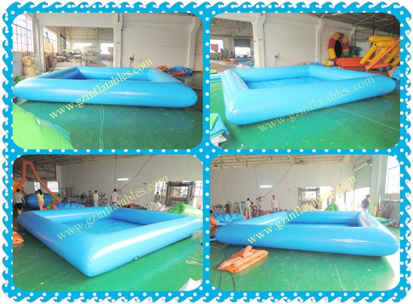 2016 Cheap Price Wholesale Square Inflatable Swimming Pool Malaysia For Rental Commercial Buy