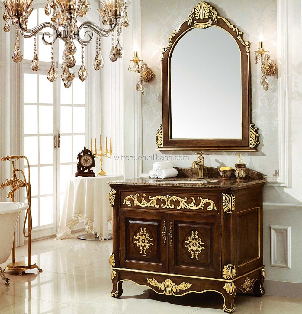 Bathroom Vanities Vintage Style antique fine handmade victorian bathroom vanity,vintage custom