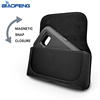 XXL Size Mobile Cell Phone Leather Belt Clip Pouch Case Cover With Holster and Loops Phone Bag for Iphone 7 plus,8 plus,s8