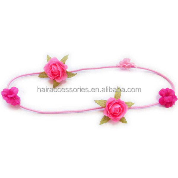 Various designs cute floral headband baby hair band