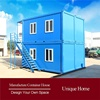 recycled retractable portable family homes villa
