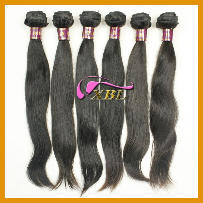 Without chemicals processed Brazilian virgin hair, machine made weft, many in stock