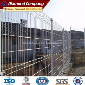 1/4 Inch Galvanized Welded Wire Mesh Fence Panels / Green Vinyl ...